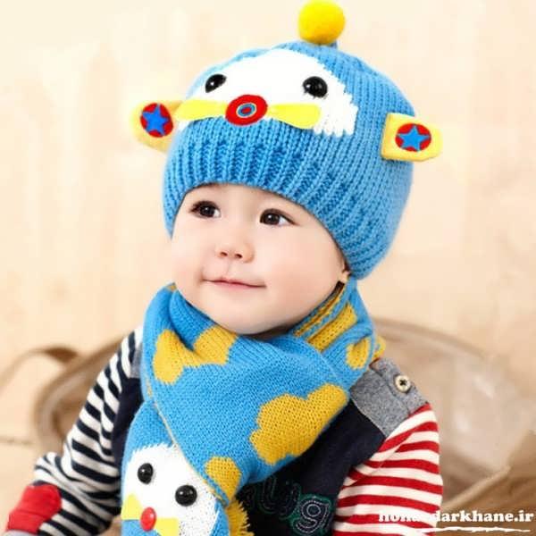 کلاه های بافتنی بچه گانه