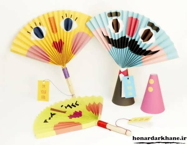 کاردستی پیش دبستانی برای بچه ها