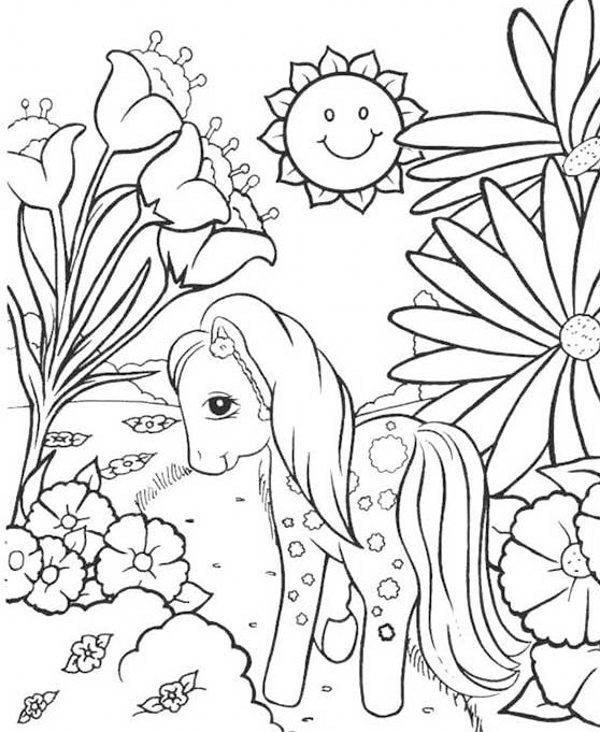 مدل نقاشی اسب برای بچه ها