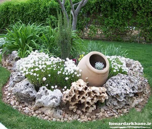 دیزاین باغچه های زیبا و خاص