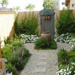 عکس تزیین باغچه منزل