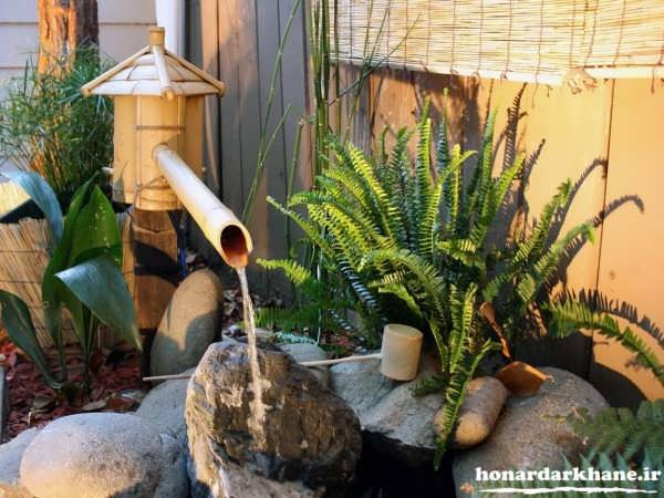 مدل تزیین برای باغچه حیاط