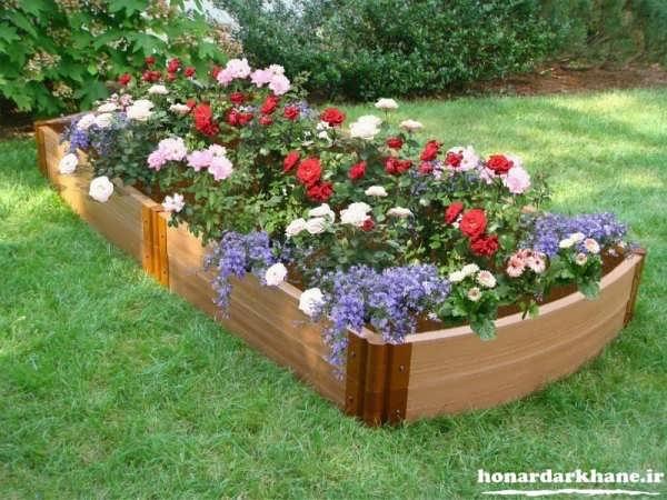 تزیینات باغچه با ایده های جدید