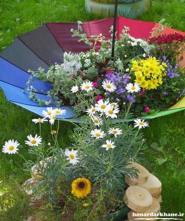 تزیینات باغچه کوچک