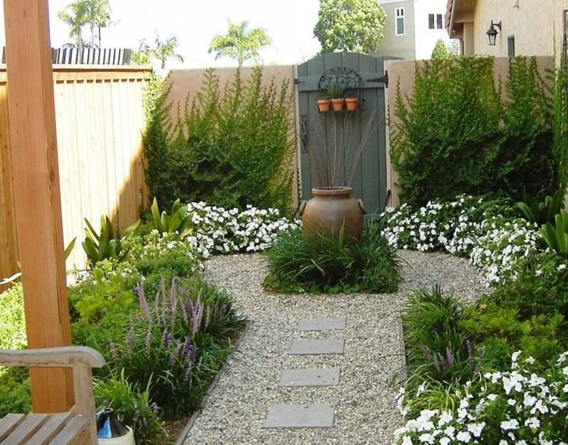 تزیین مانتو ساده تزیین باغچه منزل با ایده های جدید و متفاوت