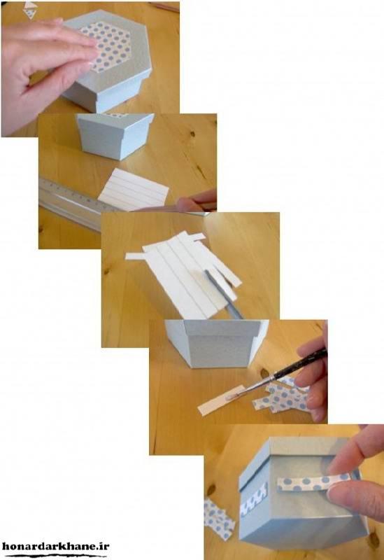 تزیین جعبه کادویی جدید