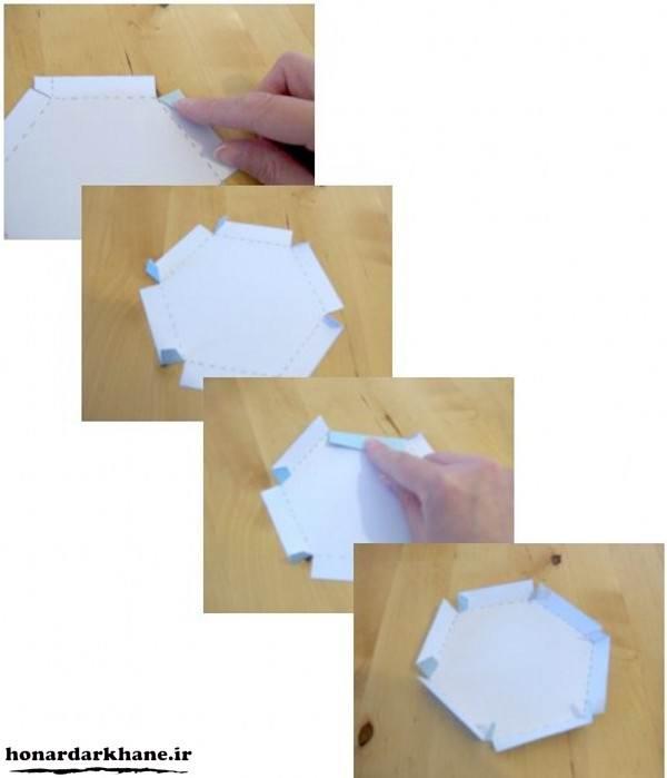 مراحل ساخت جعبه کادو