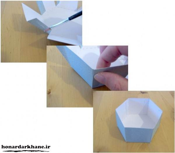 آموزش ساخت جعبه کادویی در منزل