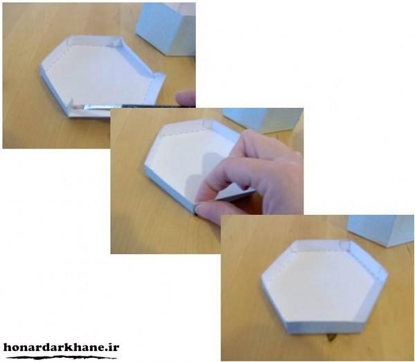الگو جعبه کادویی جدید و زیبا