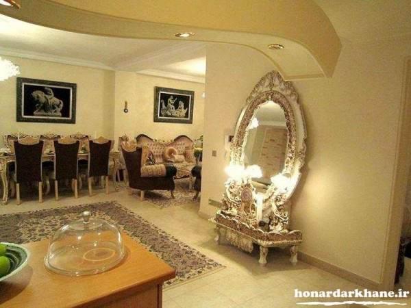 تزیین خانه عروس ایرانی