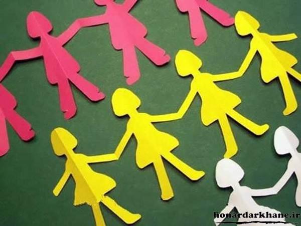 کاردستی های زیبا برای کودکان