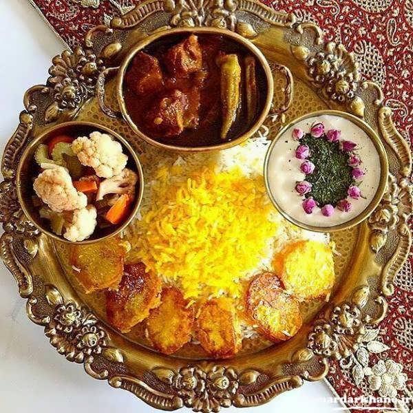 دیزاین و تزیین غذاهای ایرانی