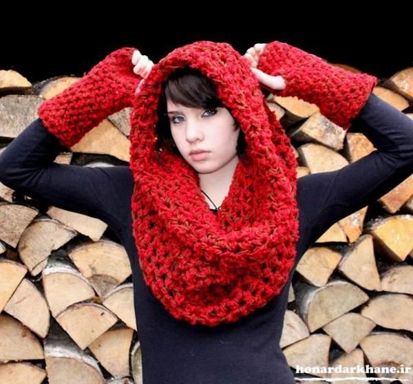 مدل جدید شال گردن