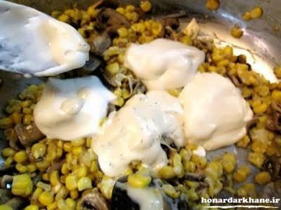 طرز تهیه ذرت مکزیکی اصل در منزل