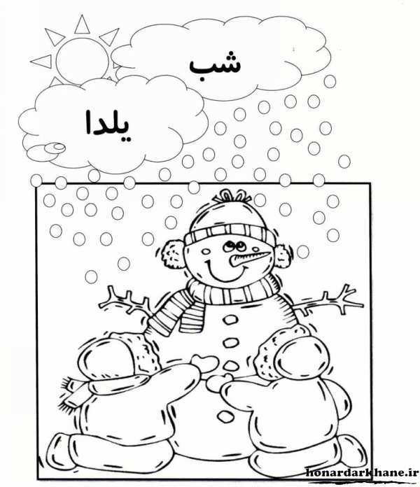 مدل رنگ آمیزی و نقاشی برای شب یلدا