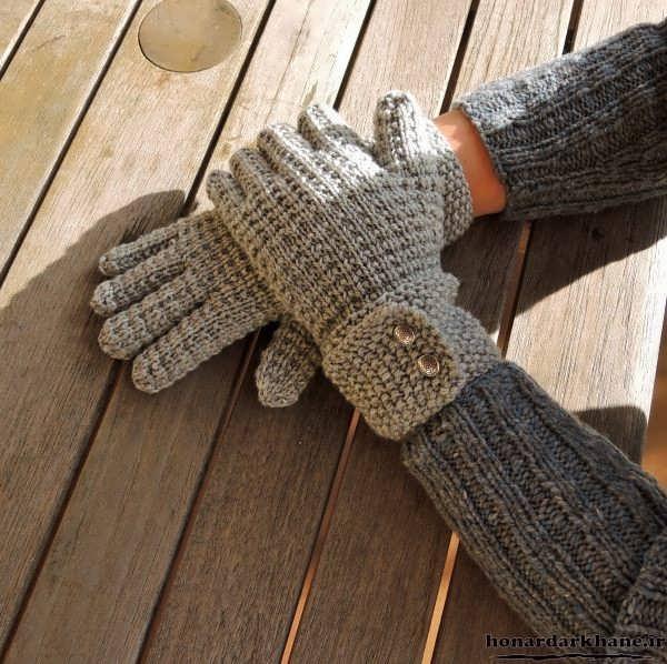 مدل دستکش زنانه بافتنی