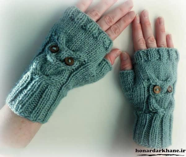 دستکش های جدید و زیبای بافتنی