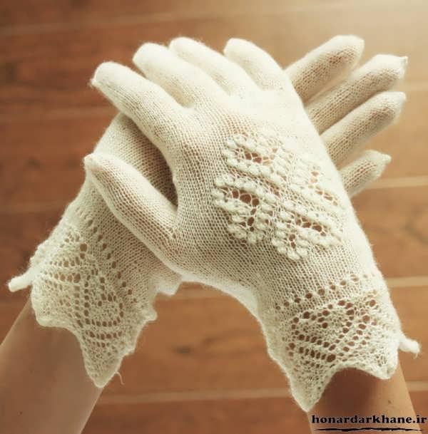 دستکش های بافتنی جدید و شیک