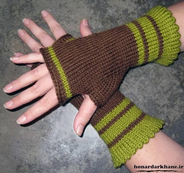 بافت دستکش بدون انگشت