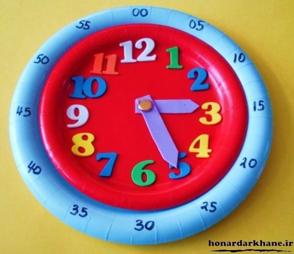 مدل کاردستی ساعت