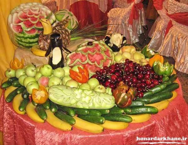 میوه آرایی های جدید و زیبا