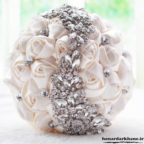 دسته گل جدید و شیک برای عروس
