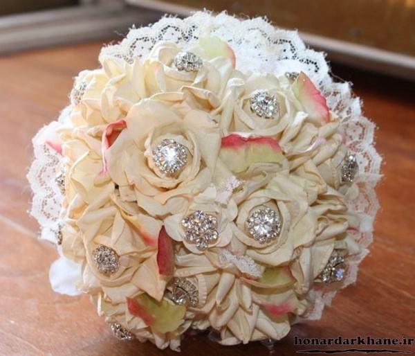 مدل دسته گل جدید عروس