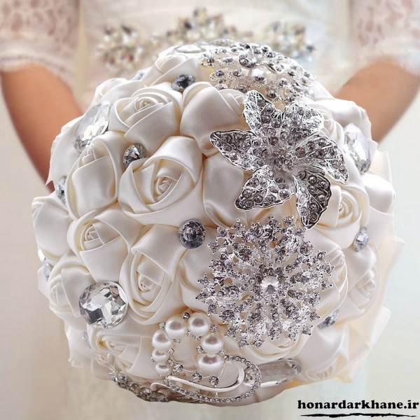 دسته گل عروس دست ساز