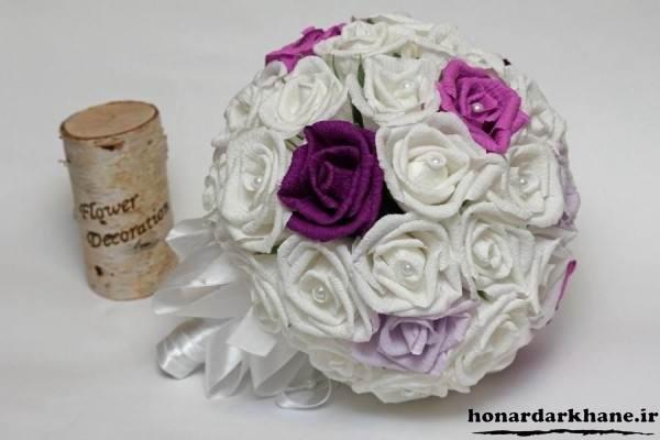 دسته گل عروس جدید و شیک