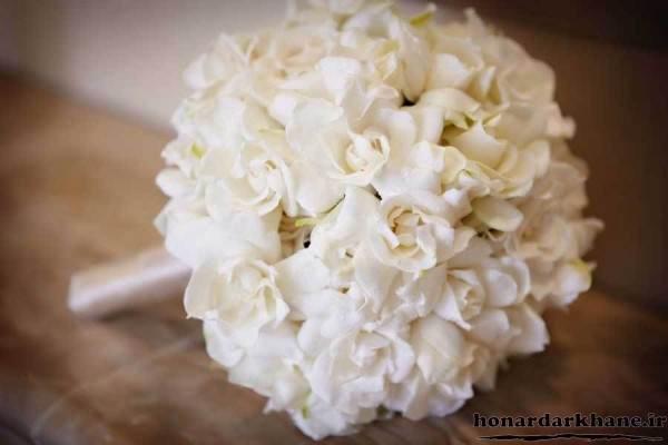 دسته گل عروس برای جشن نامزدی