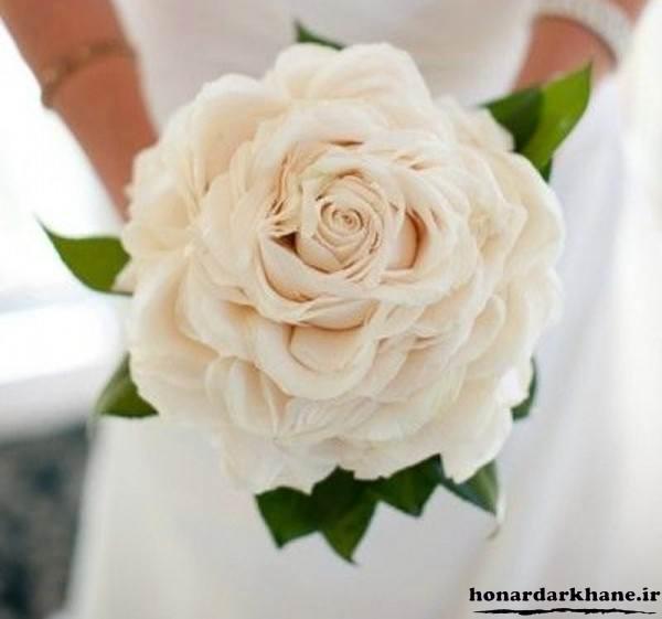 دسته گل زیبا و شیک برای عروس جدید