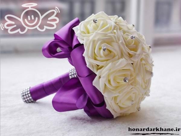 مدل جدید دسته گل عروس