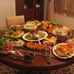 تزیین میز غذا خوری