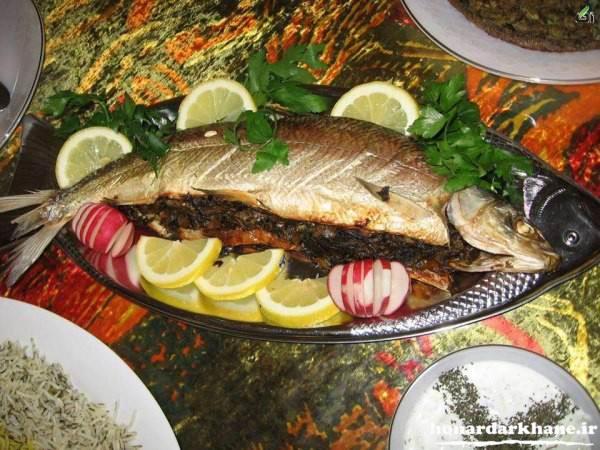 تزیین زیبای ماهی مجلسی