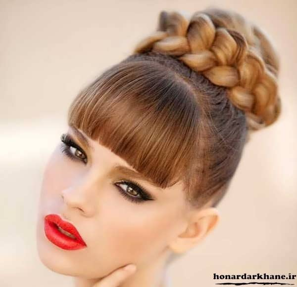 شینیون موی دخترانه 2017