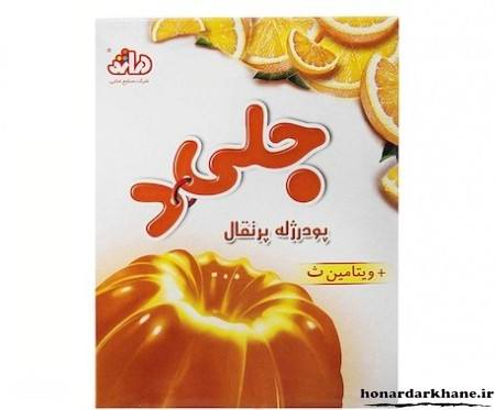 ژله پرتقال