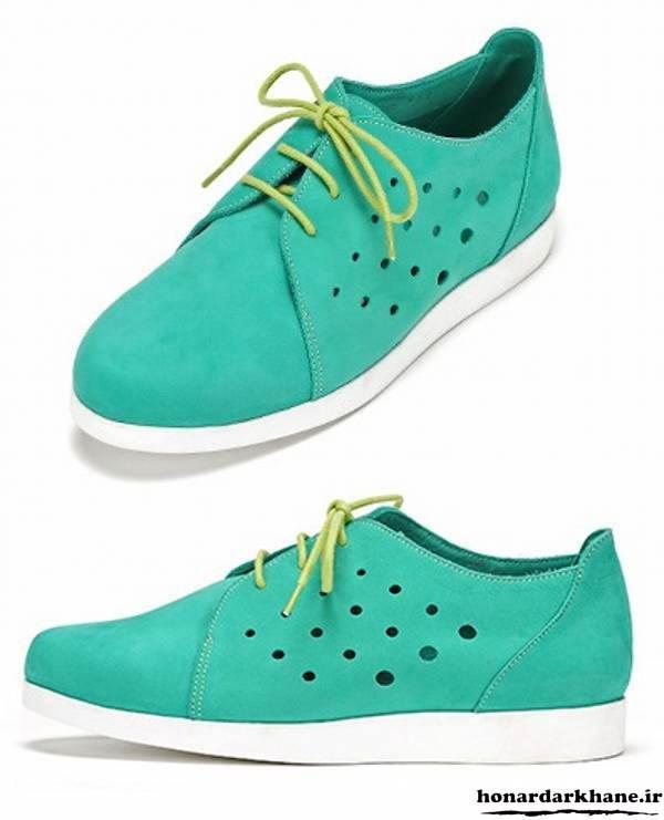 کفش دخترانه سبز