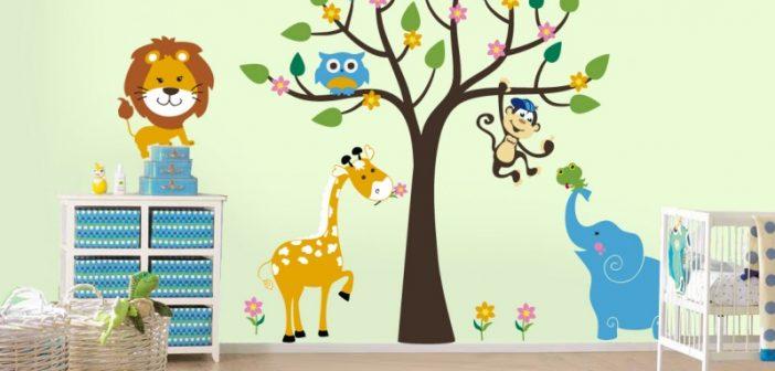 مدل تزیین اتاق کودک