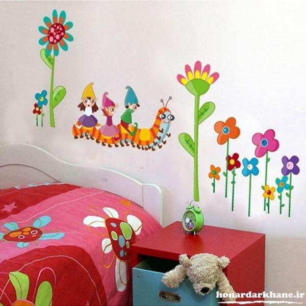 تزیین زیبا و جدید اتاق کودک