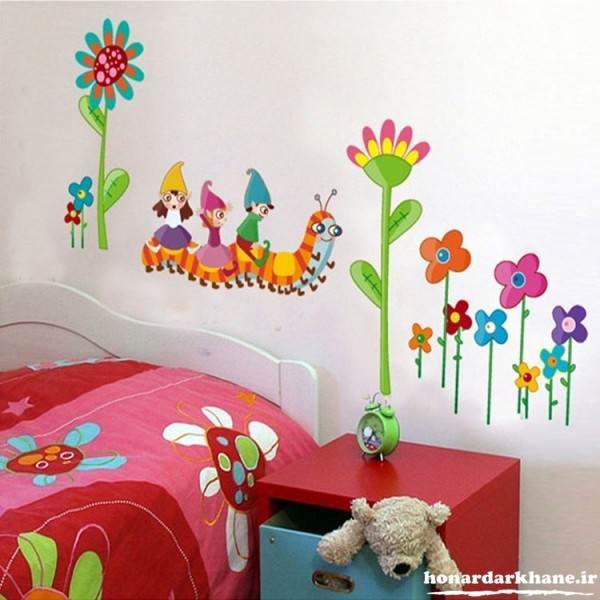 تزیین زیبای اتاق کودک