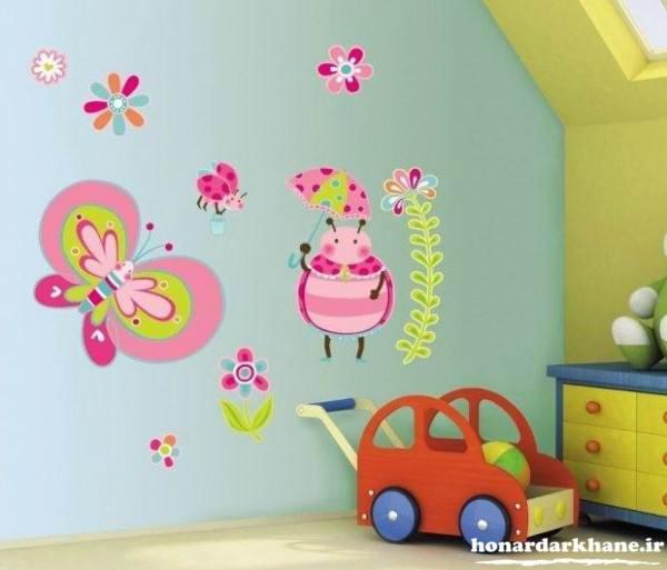 دانلود دکوری بافتنی decorating children's rooms (5) هنر در خانه