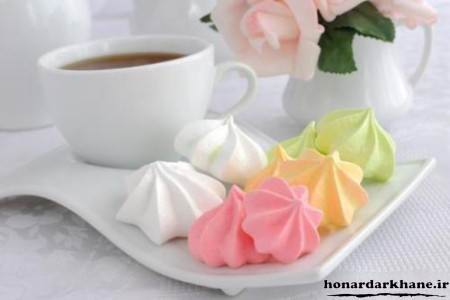 عکس شیرینی مرنگ عید