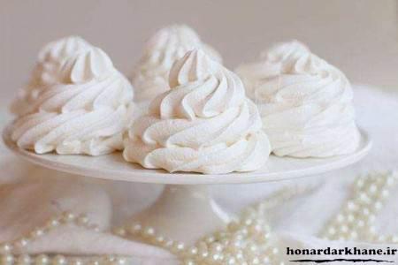 آموزش پخت شیرینی مرنگ
