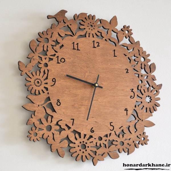 مدل ساعت چوبی