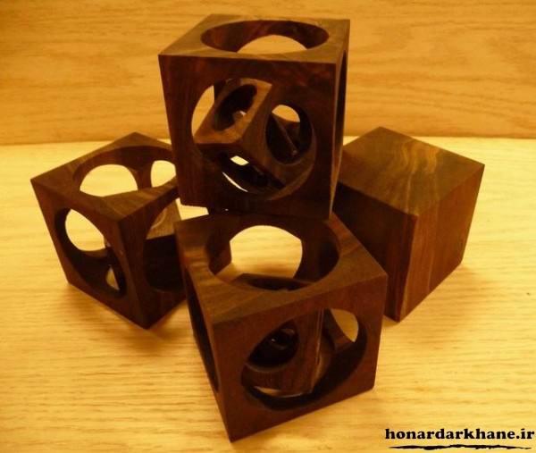 ساخت جاشمعی چوبی