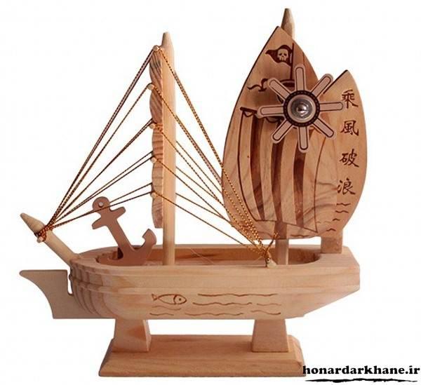 دکوری کشتی چوبی