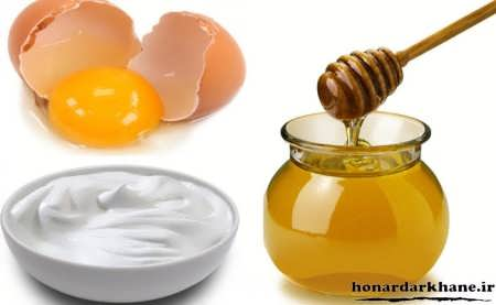 کاسک عسل، تخم مرغ و ماست