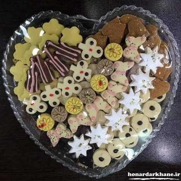 تزیین شیرینی برای مهمانی