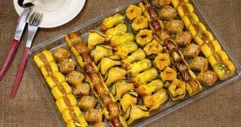 تزیین شیرینی عید
