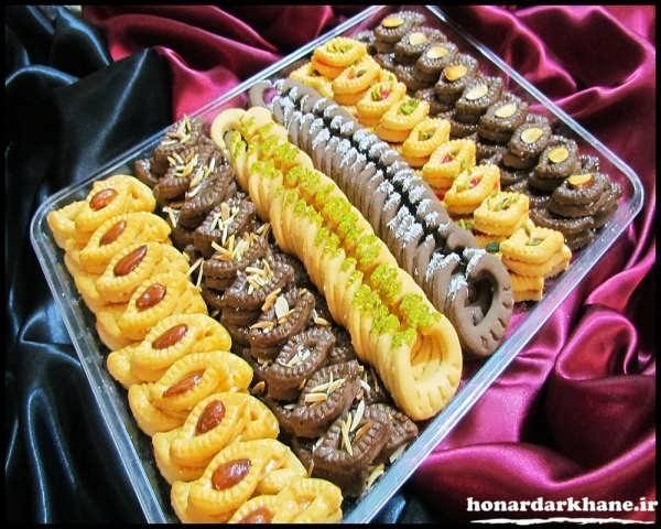 مدل تزیینات شیرینی برای مهمانی
